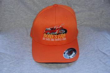 Orange Flex Fit Hat various sizes available