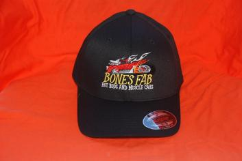 Black Flex Fit Hat various sizes available