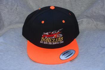 Orange bill, Black hat Snap Back